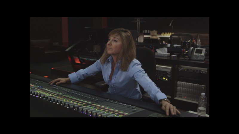 Anna Behlmer at Mix Console