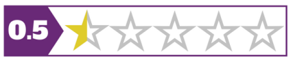 0.5 stars