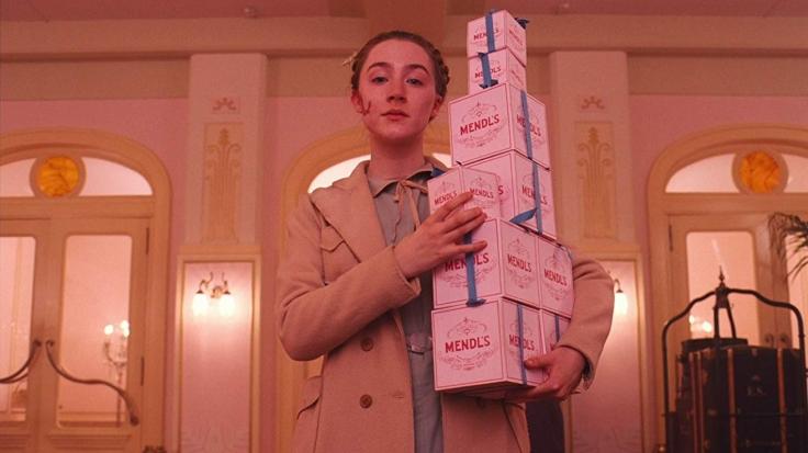 Saoirse Ronan Grand Budapest