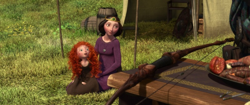 brave elinor and merida