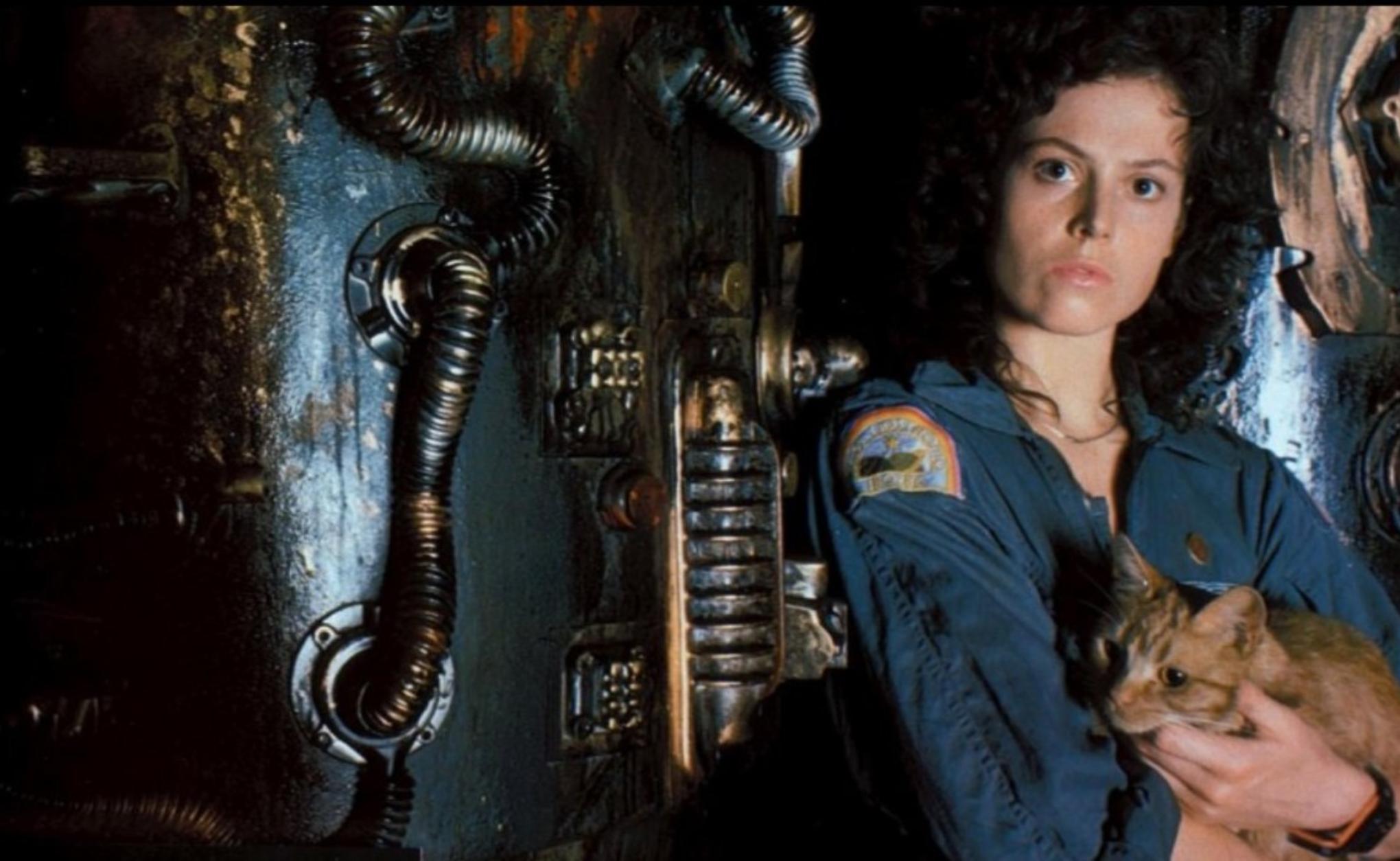 Sigourney Weaver as Ellen Ripley in Alien_via IMDB dot com